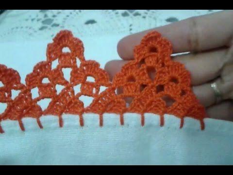 Barrado em Crochê de frutas ( Uvas ) - Eliz Flor - YouTube