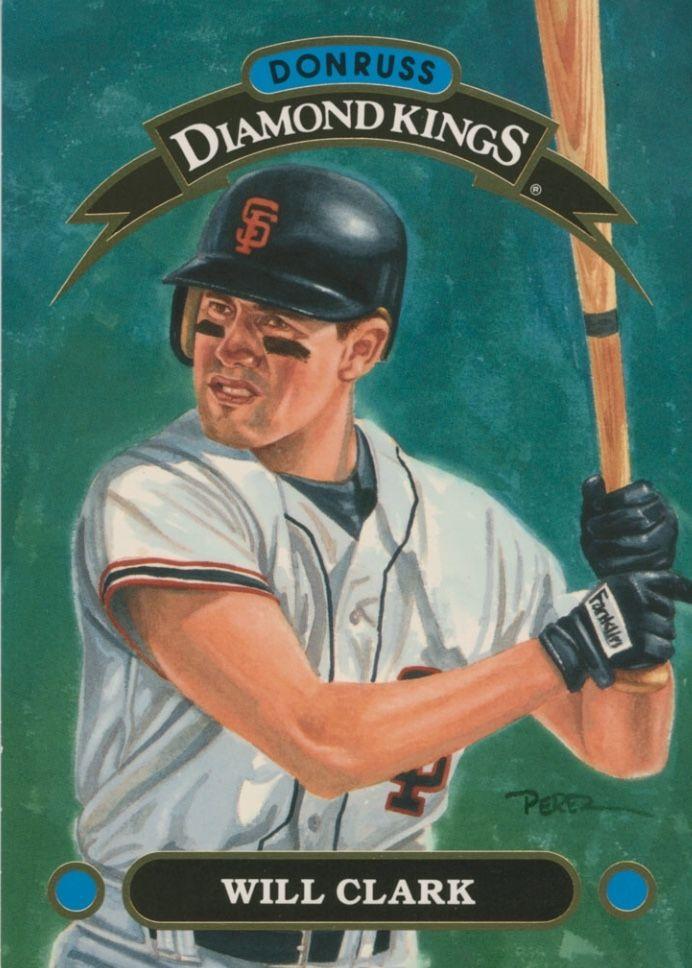 Pin By Joey Buchholz On Donruss Diamond Kings Baseball Cards Cards Clark