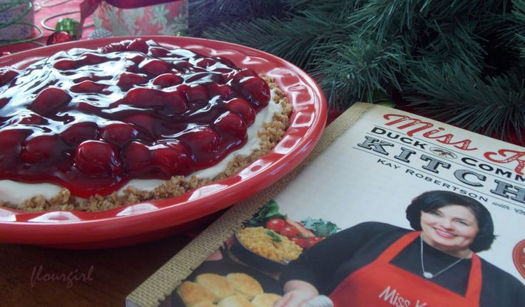 Duck Dynasty: Alan's Cream Cheese Pie from Miss Kay's new cookbook