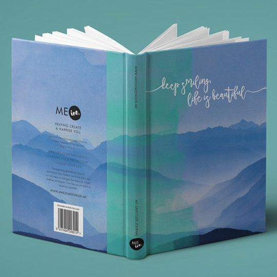 Gratitude Journals by AwesoME Inc - Helping Create a Happier You Gratitude Journal   Create Happiness   Boost Self Esteem