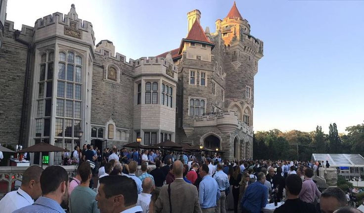 #DeskCenterSolutions #castle #microsoft #impressive #evening #partners #party #canada