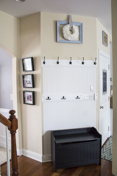 Mud Area Makeover – An Organized Entryway                                                                                                                                                     More