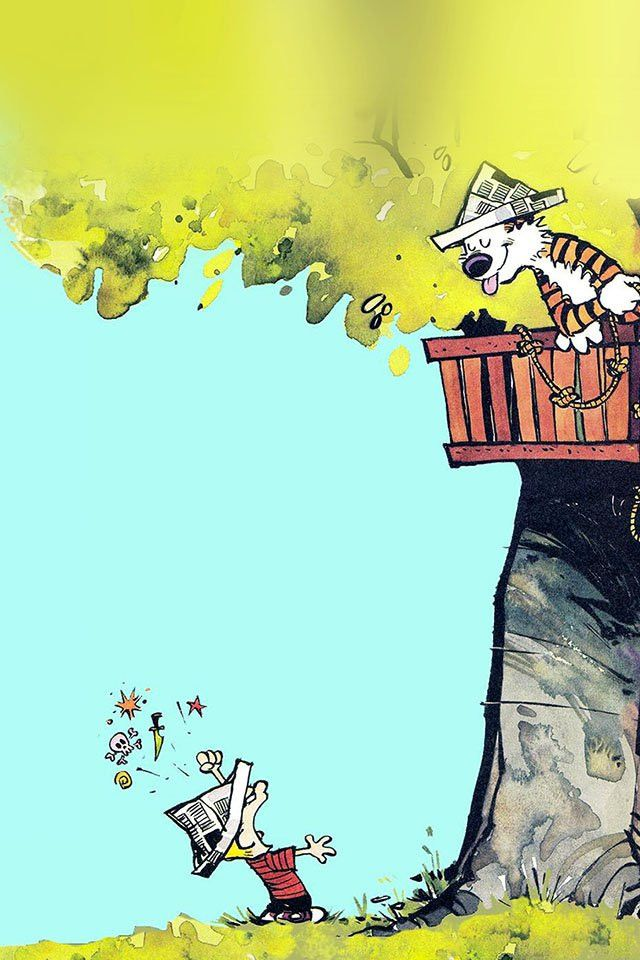 Calvin And Hobbes Wallpaper Phone Hd Luxury 47 Calvin And Hobbes Iphone Wallpaper On Wal In 2020 Calvin And Hobbes Wallpaper Calvin And Hobbes Comics Calvin And Hobbes