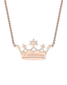 MeMi: MeMi Crown Personalised Necklace!