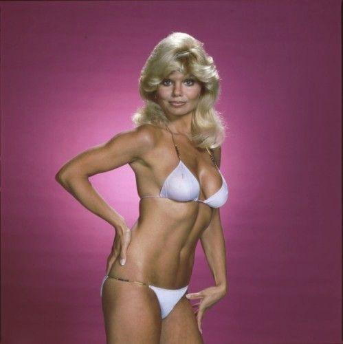Loni anderson white bikini