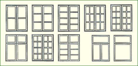 verschiedene typen dnischer sprossenfenster bv t pinterest - Sprossenfenster Anthrazit Grau
