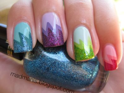 Glitter and color