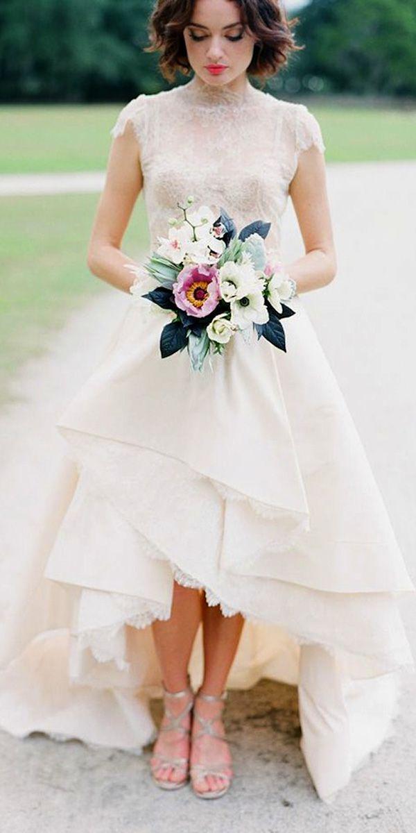 High 15 robes de mariée haute et basse