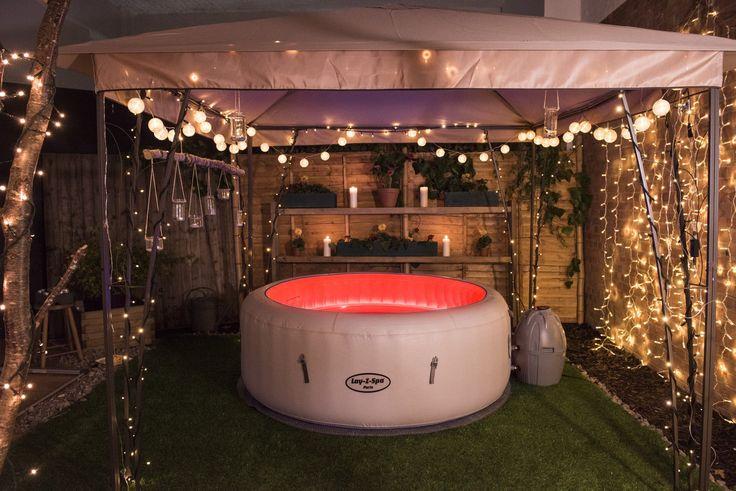 47 best lay z spa garden setup ideas images on pinterest. Black Bedroom Furniture Sets. Home Design Ideas