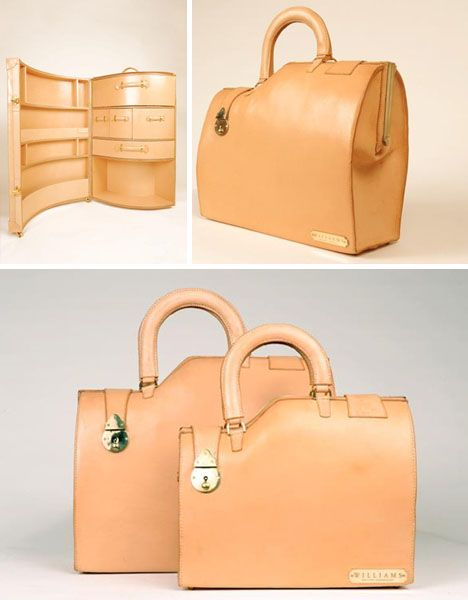Bespoke Baggage: 7 Twisted Trunks & Hand-Curved Cases