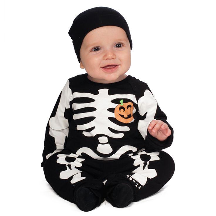 Rubies İskelet Baskılı Erkek Bebek Kostümü Bebek Form' da...  http://bebekform.com/urun/64-RUBBSKE_Rubies-iskelet-Baskili-Siyah-Kostum.html