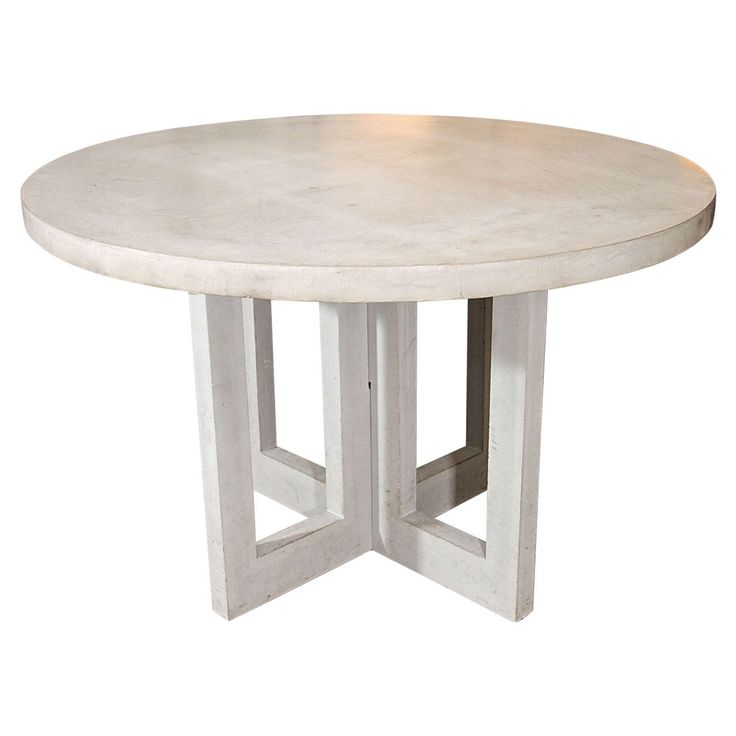 Concrete Dining Room Table: Dalton Concrete Dining Table