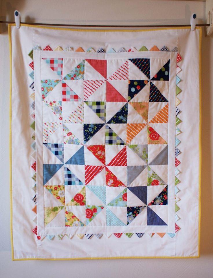 Moda Happy Go Lucky Pinwheel quilt