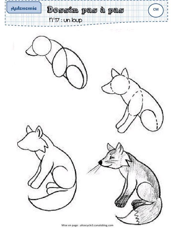 Bevorzugt Les 25 meilleures idées de la catégorie Comment dessiner un renard  MU97