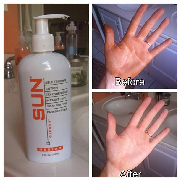 This girl loves this product and she tells you how to get it off your hands! Hmmm maybe I'll try it =)