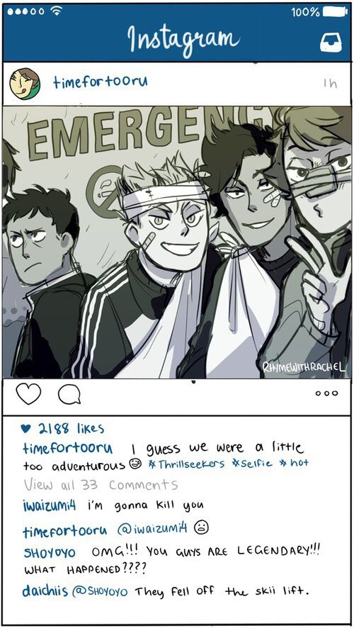 Haikyuu Instagram 4