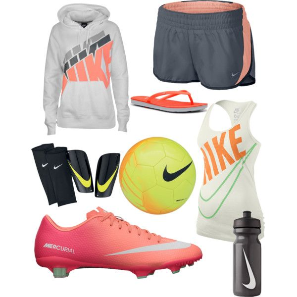 A fashion look from October 2013 featuring NIKE tops, NIKE y NIKE activewear shorts. Browse and shop related looks.