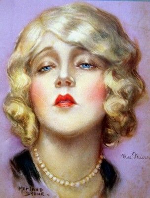 1925 Vintage ~~~ October Issue MOTION PICTURE Movie Magazine ~~~ Cover Girl: Mae Murray Cover Illustrator: Marland Stone Please see additional photos below. All original 1925 MOTION PICTURE magazine,