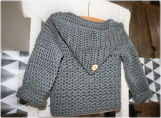 Haakz{ cardigan. Link to free Dutch pattern