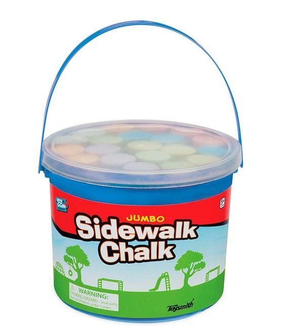 Main Image For Big Bucket Of Chalk Sidewalk Chalk Chalk Activities Sidewalk Chalk Games