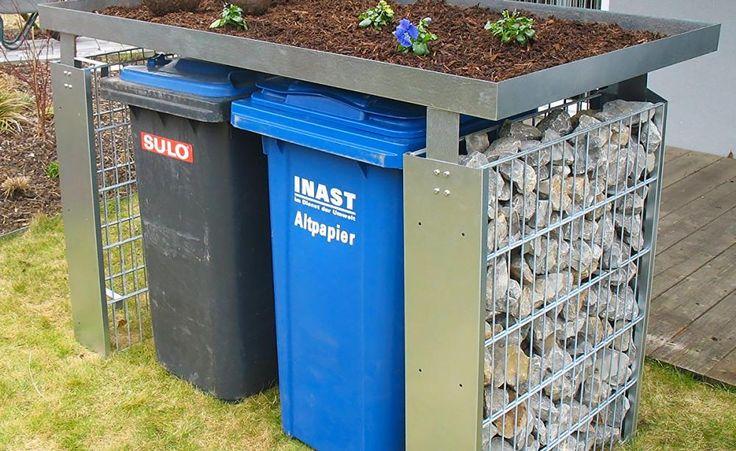 Jeder hat sie im Vorgarten stehen, aber ansehnlich findet sie niemand: Mülltonnen. Wir zeigen, wie Sie die Abfallbehälter dezent verstecken. Ob aus Holz, Glas oder Recyclingmaterialien, ob gekauft oder selbst gebaut - beim passenden Sichtschutz sind Ihren Gestaltungsideen keine Grenzen gesetzt.