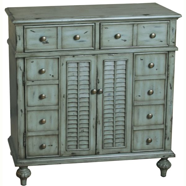 distressed wood chest with drawer fronts and louvered doors product accent material wood composites and hardwood