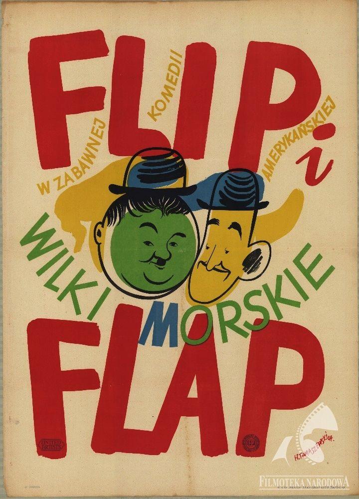 Flip i Flap wilki morskie Autor: Henryk Tomaszewski