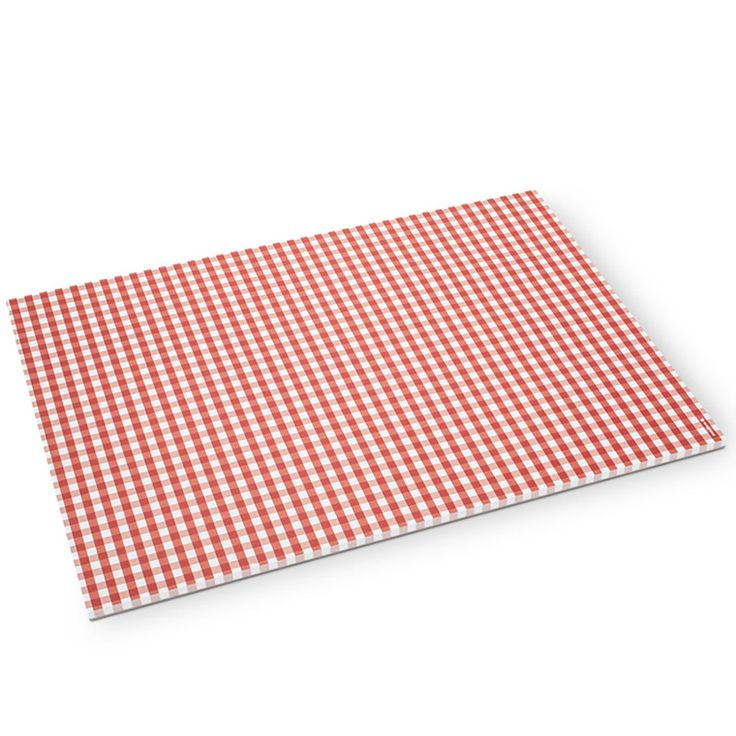 These festive printed paper placemats are easy to clean up after a Canada Day party!