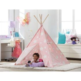 BROOKE Samu0027s Club - Kidsu0027 Indoor Tent  sc 1 st  Pinterest & The 25+ best Indoor tents ideas on Pinterest | Kids indoor tents ...