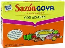 Saz n con azafr n goya for the latina cook in you for Azafran cuban cuisine