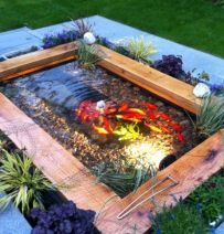 Garden Ideas Railway Sleepers 20 best pond images on pinterest | pond ideas, railway sleepers