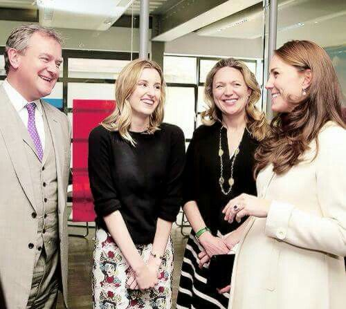 Behind the scenes with the lovely Kate #downtonabbey