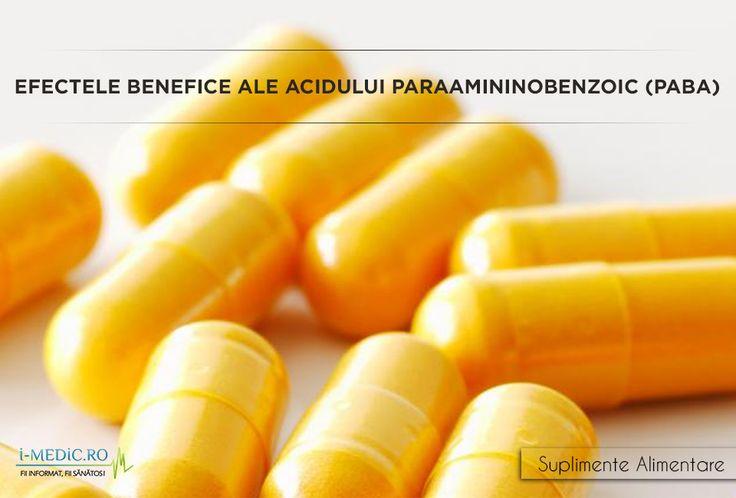 Acidul paraaminobenzoic (PABA) este un aminoacid neproteic, regasit in surse naturale de hrana precum ficat, oua, orez, germeni de grau si spanac. De multe ori PABA este denumita si vitamina Bx, cu toate ca aceasta nu este nici o vitamina in sine si nici un nutrient esential pentru organismul uman. http://www.i-medic.ro/diete/suplimente/efectele-benefice-ale-acidului-paraamininobenzoic-paba