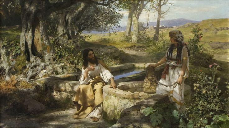 Henryk Siemiradzki, Chrystus i Samarytanka