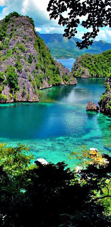 Beautiful Palawan Puerto Princesa in the Philippines -...