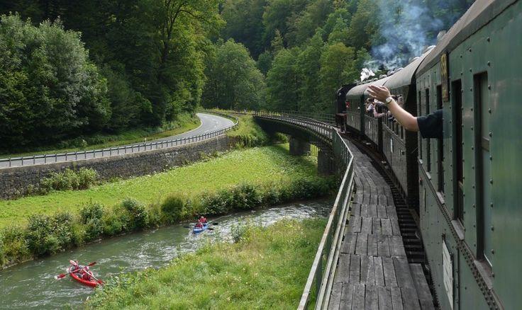 Najkrajšie cesty vlakom po Slovensku – Sóda