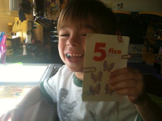 Paper clipping and counting numbers two skills in one!