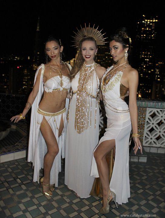 Goddess Character Models by Catalyst Arts Entertainment San Francisco