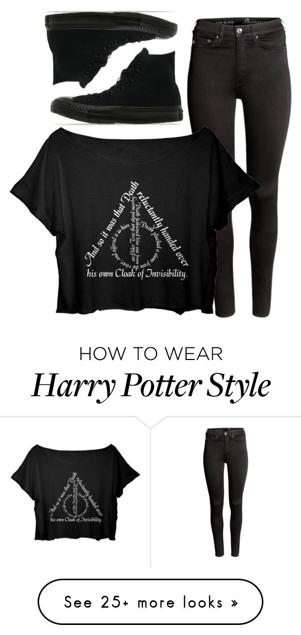 """""""Untitled #16"""" by iouzzani on Polyvore featuring H&M and Converse"""