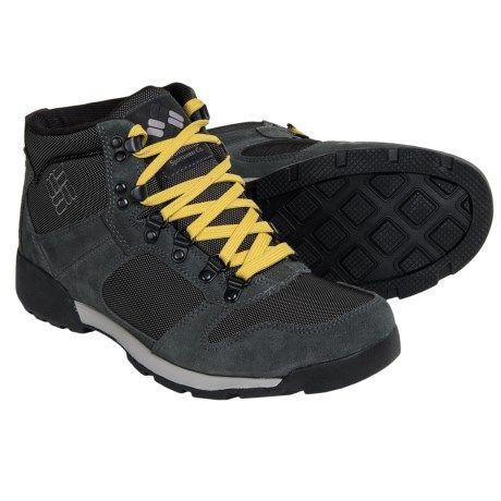 $48.66 - Columbia Sportswear Original Sierra Snow Boots (For Men) in Black/Light Grey