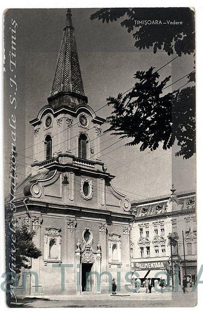 Biserica romano-catolica din Iozefin ante 1960