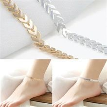 Лето Boho Fishbone Сеть Ножные Браслеты Мода Лодыжки Ног Ювелирные Изделия Для Женщин Подарки Бесплатная Доставка(China (Mainland))