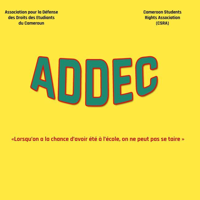 Cameroun,Université de Yaoundé 1:Les secrets cachés du mouvement de l'ADDEC :: CAMEROON - Camer.be