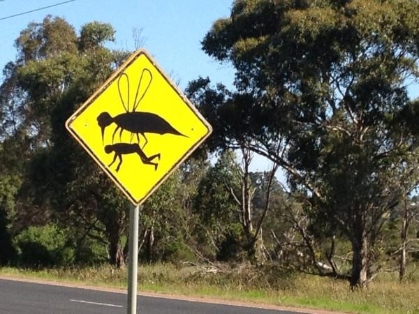 @lonelyplanet #lp sharing with you the strangest sign I have ever seen while driving across #australia pic.twitter.com/afOS6Qtl