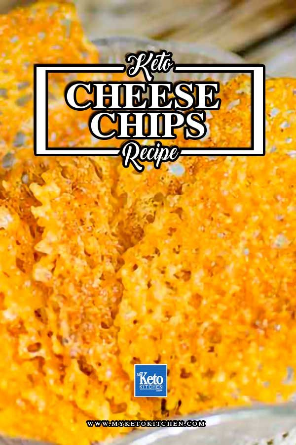"""Keto Cheese Crisps (Chips) Recipe – """"Easy"""" Low Carb Cheddar Snack"""