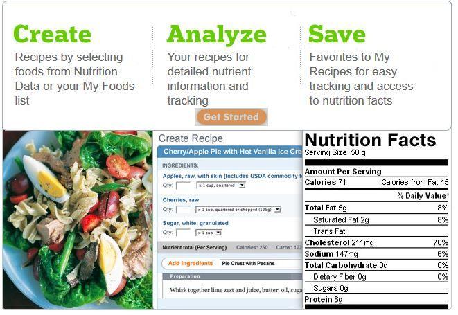 Get Nutrition Data