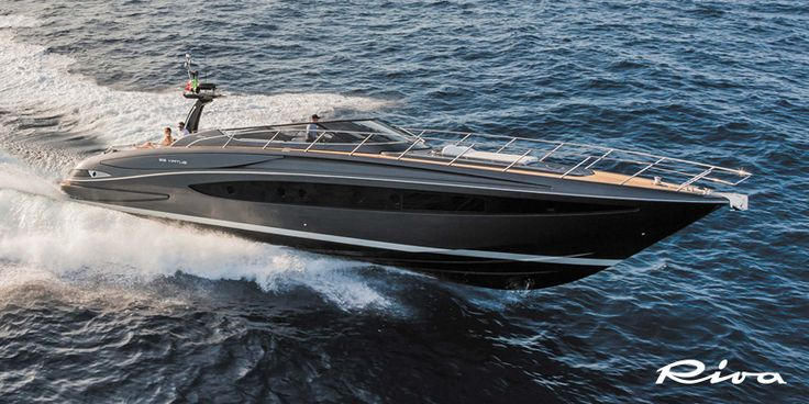 Riva 63' Virtus at the Palm Beach International Boat Show
