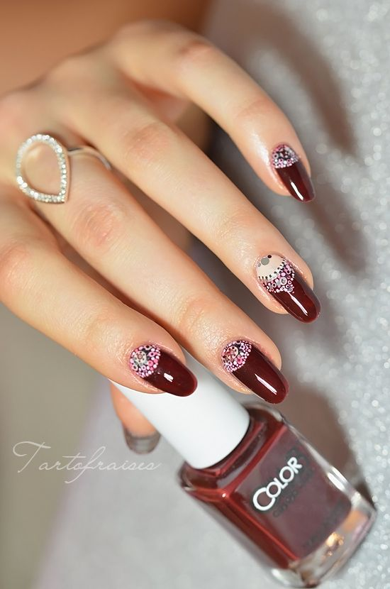 ongle bijou facile point