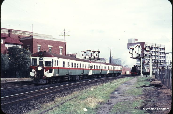 Perth trains in the 60s
