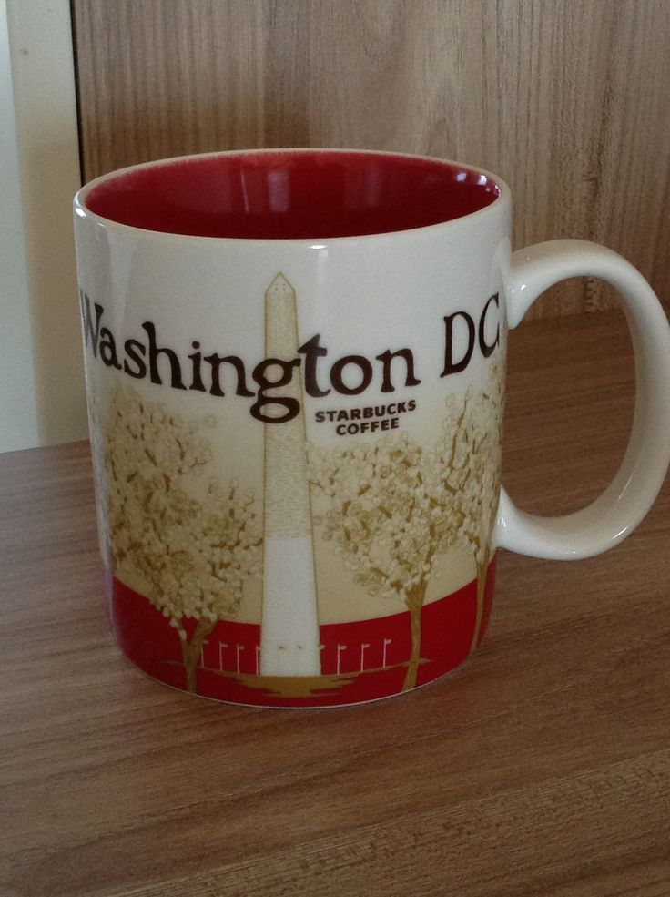 Washington DC Starbucks City Mug